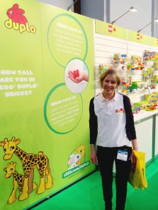 Lego/Duplo Brick Pit at the Auckland Baby Show